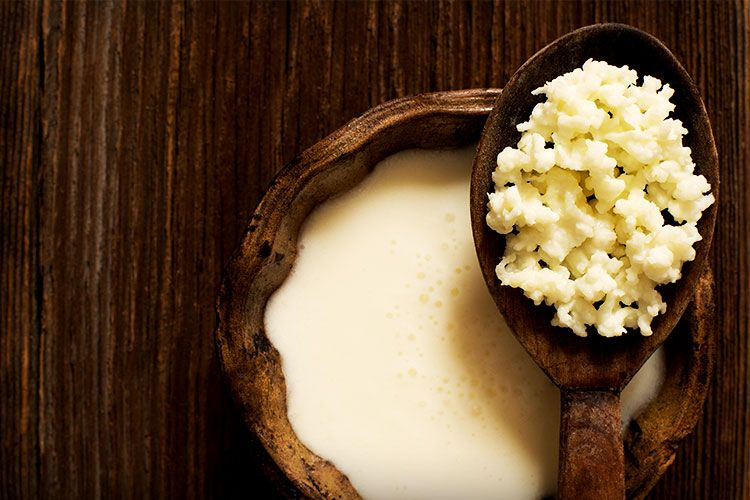wood cottage cheese