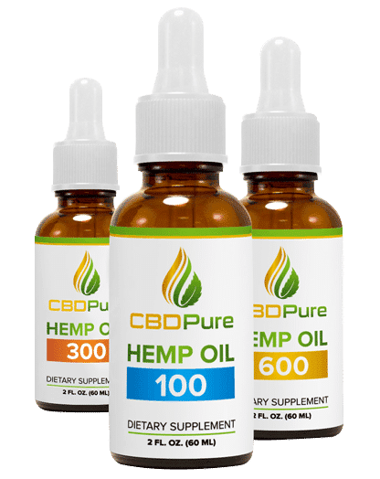 CBDPure Hemp Oil Extract - CBD Oil for Sale