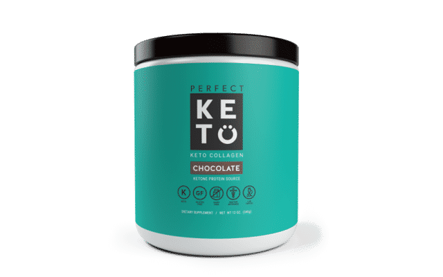 best collagen supplement Perfect Keto Grass-Fed Keto Collagen (With MCT)