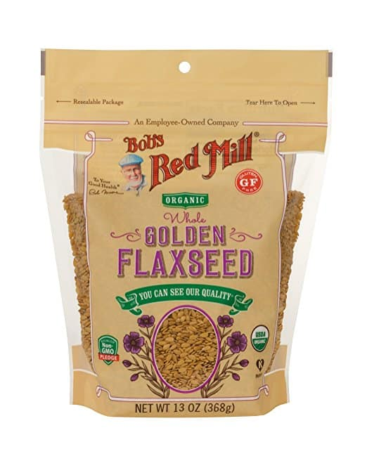 Bob's Red Mill Raw Whole Golden Flaxseeds
