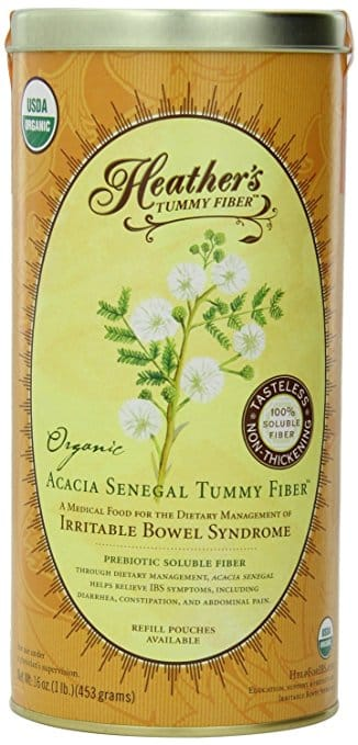 Heather's Tummy Fiber – Organic Acacia Senegal