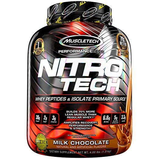 MuscleTech NitroTech Whey Protein Powder