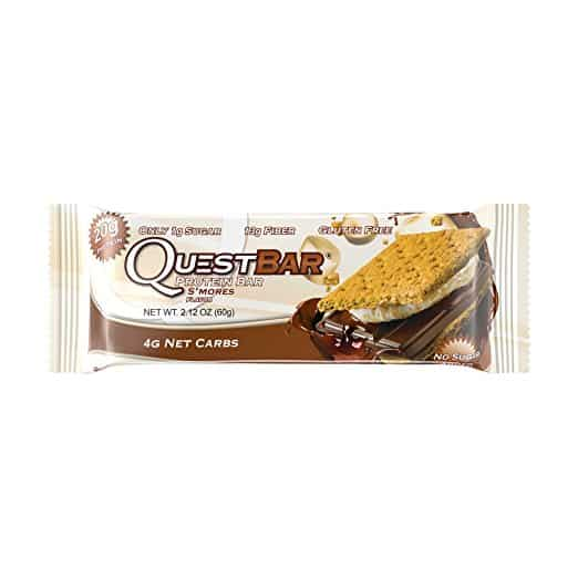 Best Low Carb Protein Bars for Keto - Quest Nutrition Protein Bar