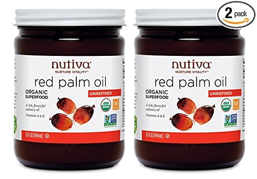Nutiva Organic Red Palm Oil, Unrefined