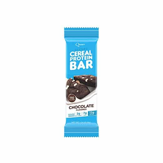 Keto Friendly Snacks - Beyond Cereal Protein Bar Chocolate Flavor