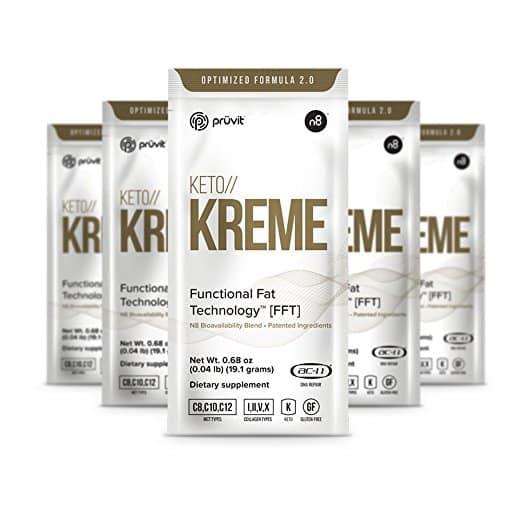 Keto Kreme Ketones Coffee Creamer by Pruvit